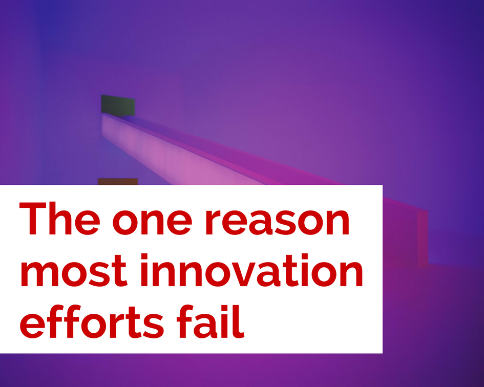 The One Reason Most Innovation Efforts Fail
